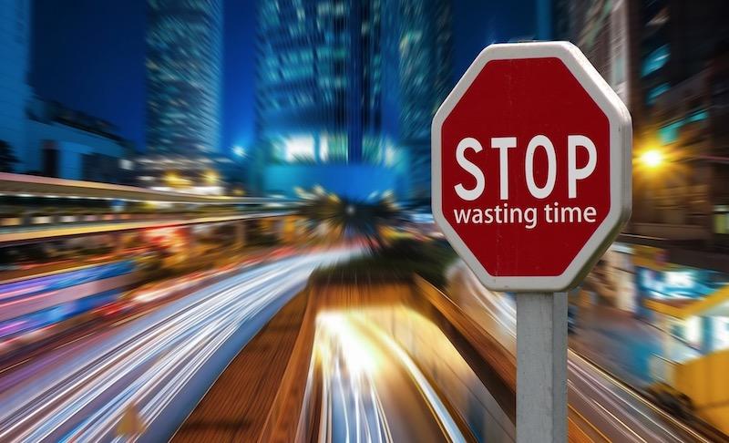 berhenti buang masa dalam kehidupan